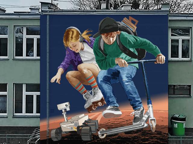 Mural SP6 – projekt
